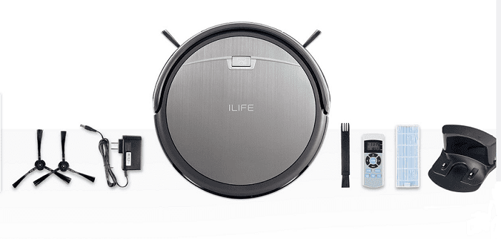 iLife A4S Robotic Vacuum Cleaner with Accessories