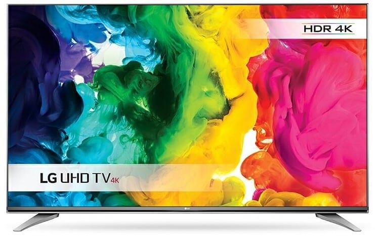 LG UH750V 4K TV or LG UH7500
