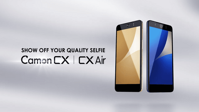 Tecno Camon CX and Tecno Camon CX Air