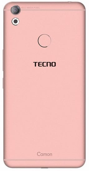 Tecno Camon CX rear view