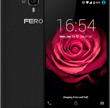 Fero Zoom –The Affordable 4G Smartphone