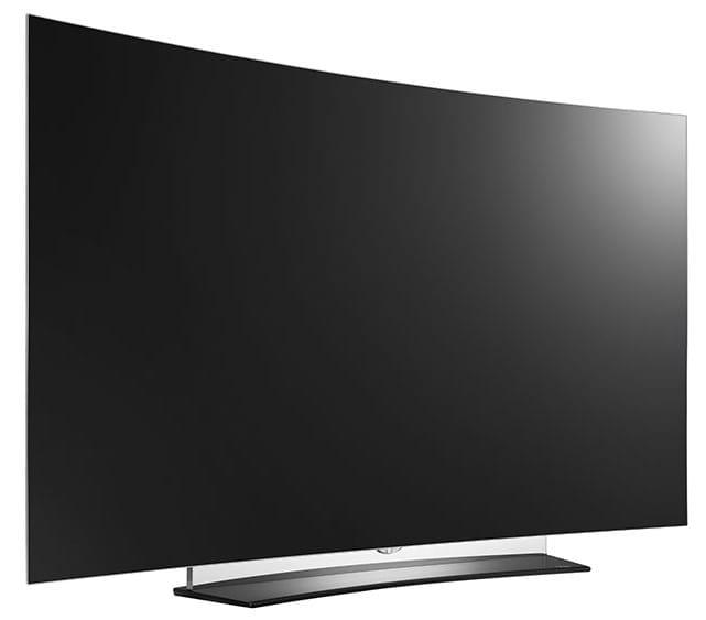 LG C6 Curved 4K OLED TV