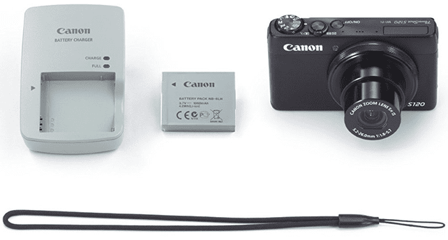 Canon S120 Camera with Accessories