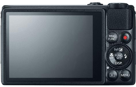 Canon S120 Camera Rear view