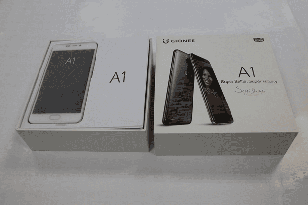 Unboxing the Gionee A1