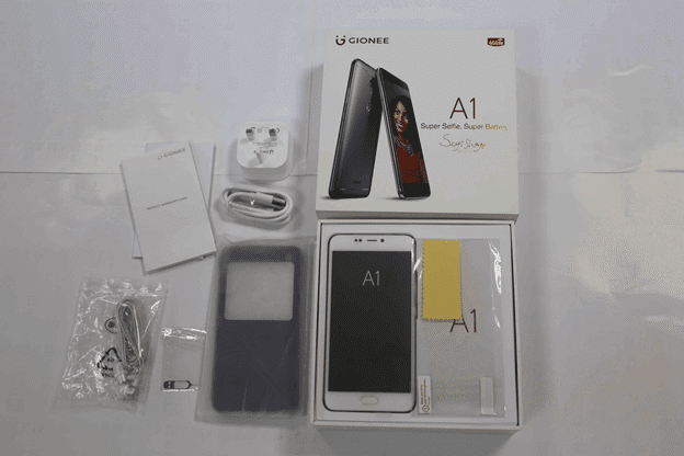 Gionee A1 Unboxing