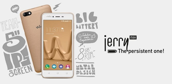 Wiko Jerry Max Specs & Price