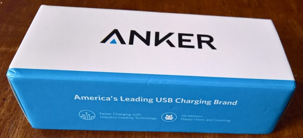 Anker PowerCore II 20000 Box