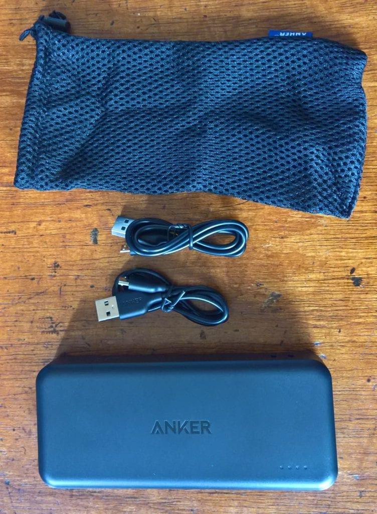 Anker PowerCore II 20000 Accessories