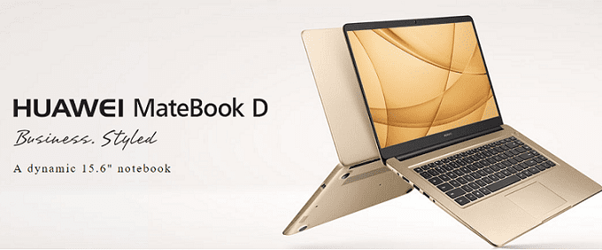 Huawei MateBook D Specs and Price
