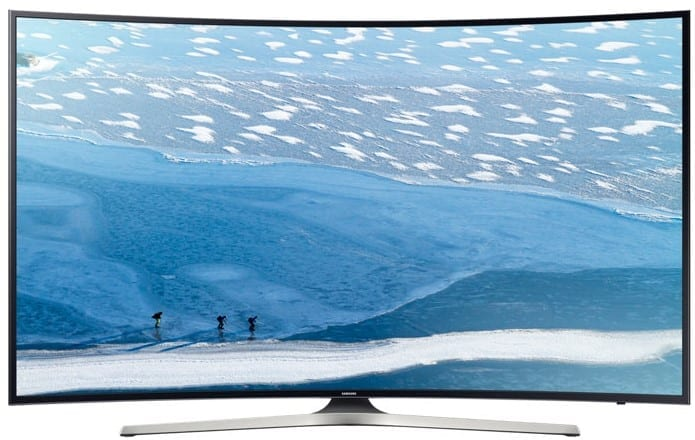 Samsung KU6170 Curved 4K TV
