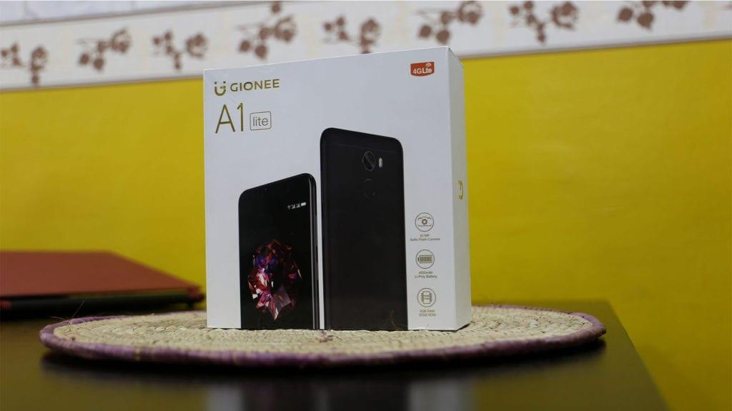 Gionee A1 Lite Box