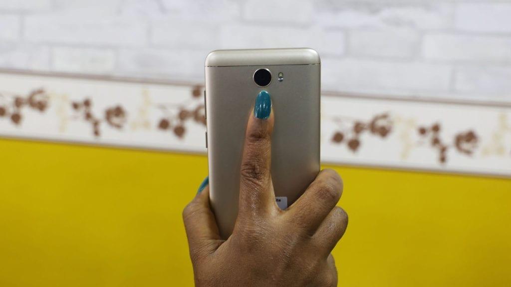 Gionee A1 Lite Fingerprint Sensor