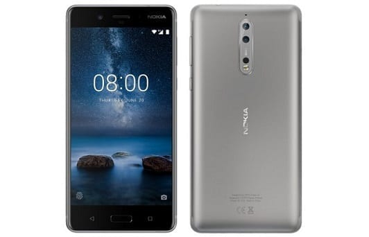 Nokia 8 Smartphone Specs and Price