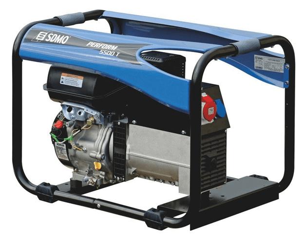 SDMO Perform 5500t 3 Phase Generator