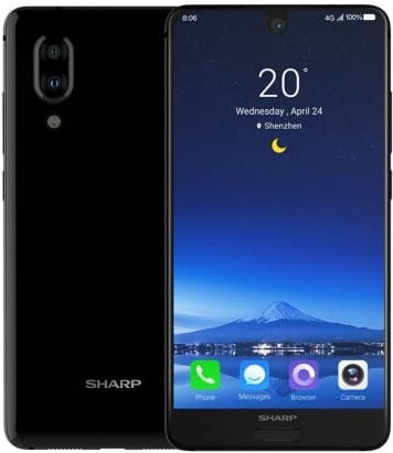 Sharp Aquos S2 Bezeless Smartphone