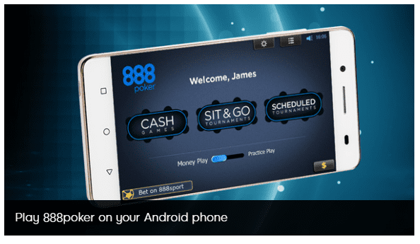 888Poker's App Review: Play anywhere on Mobile