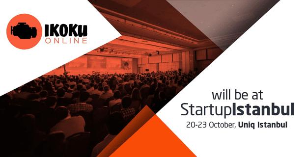 Ikoku Online at Startup Istanbul