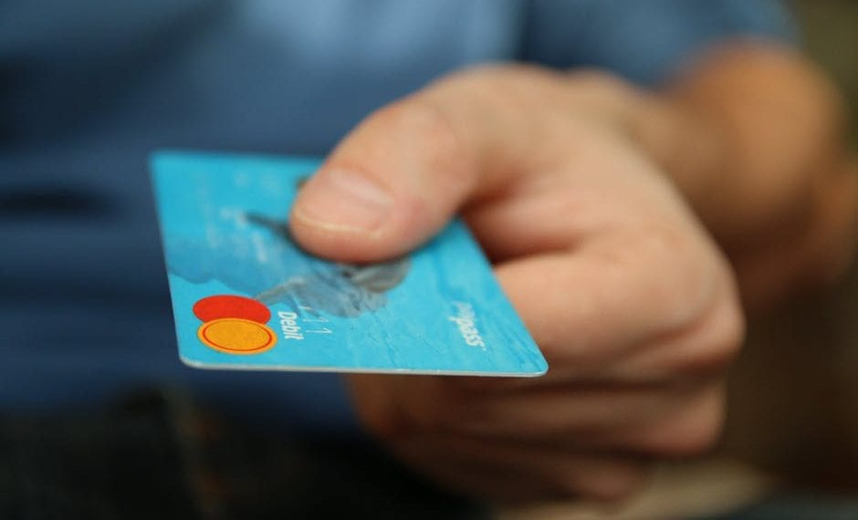 Paying with Debit Card
