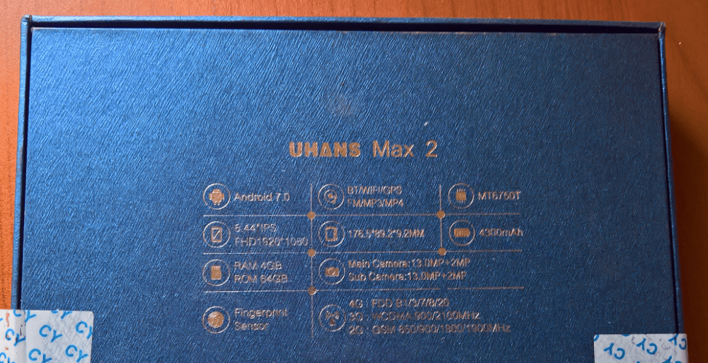 Uhans Max 2 Box Rear
