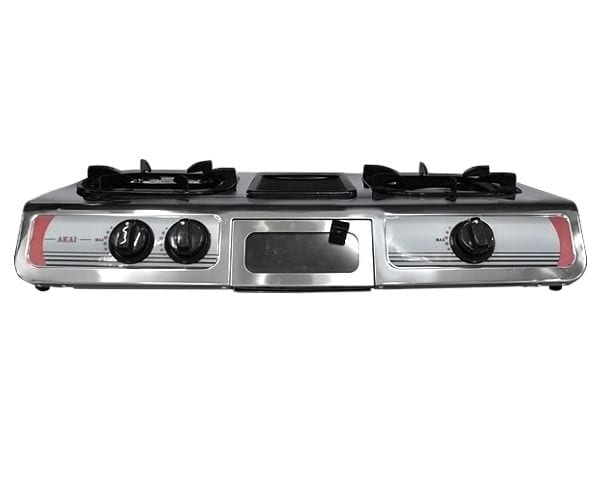 AKAI Tabletop Gas Cooker (+ Grill)