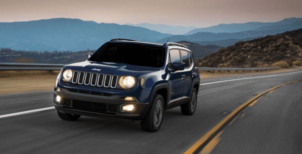 Top 20 cars in India for 2018 - Jeep Renegade