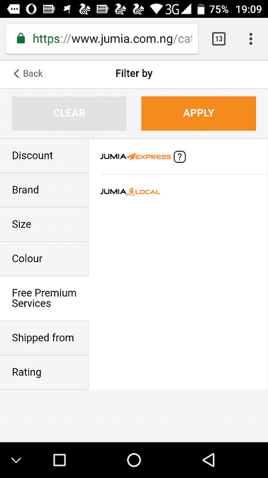 Jumia Express - Fast and Low Cost Delivery for Online Shopping