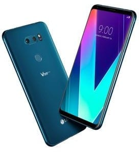 LG V30S ThinQ Smartphone with AI