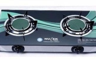 Nulek Table Glass Top Gas Cooker