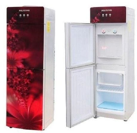 Polystar Water Dispenser with Fridge and Freezer