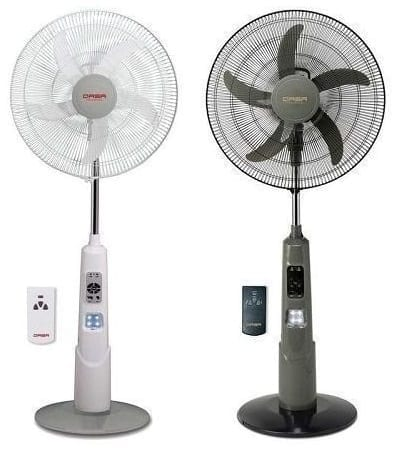 "QASA 18"" Rechargeable Fan"