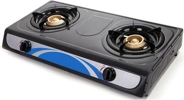 Universal Tabletop Two Burner Gas Cooker