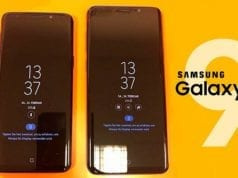 Samsung Galaxy S9 Always on Display
