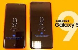 Samsung Galaxy S9 Always on Display