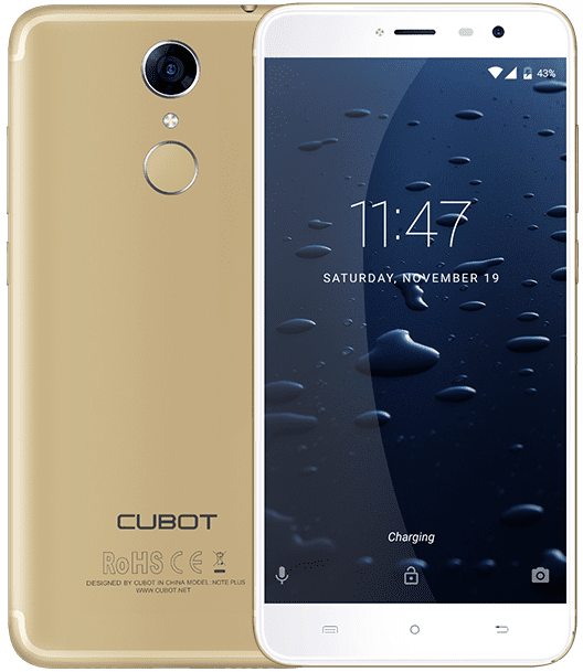 2 Cubot Note Plus