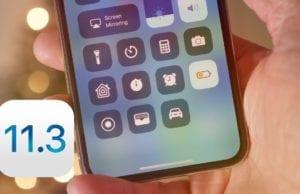 Apple iOS 11.3