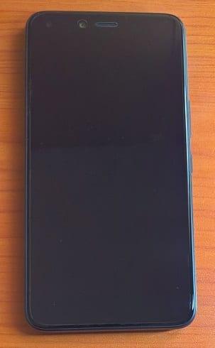 Infinix Zero 5 Smartphone front view