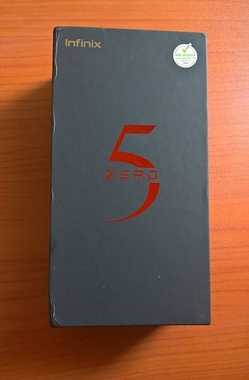 Infinix Zero 5 Box on NaijaTechGuide Desk