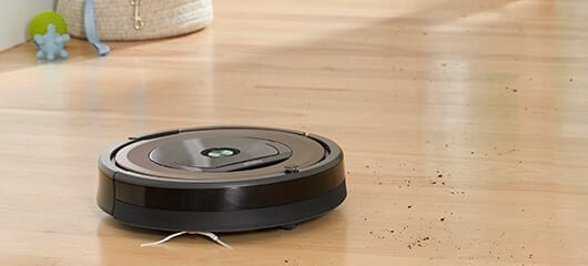 Smart Home Cleaning Gadgets for Easier Life : iRobot Roomba Floor Cleaner