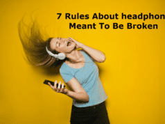 7 Rules About headphone Meant To Be Broken