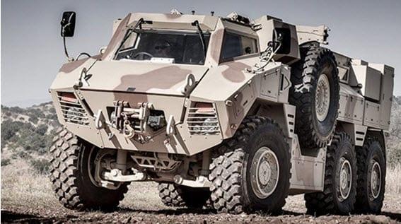 JAIS 6x6 MRAP version