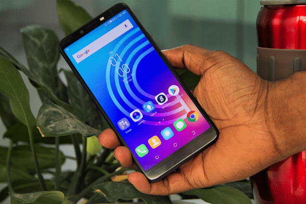 Tecno Camon X in Hand
