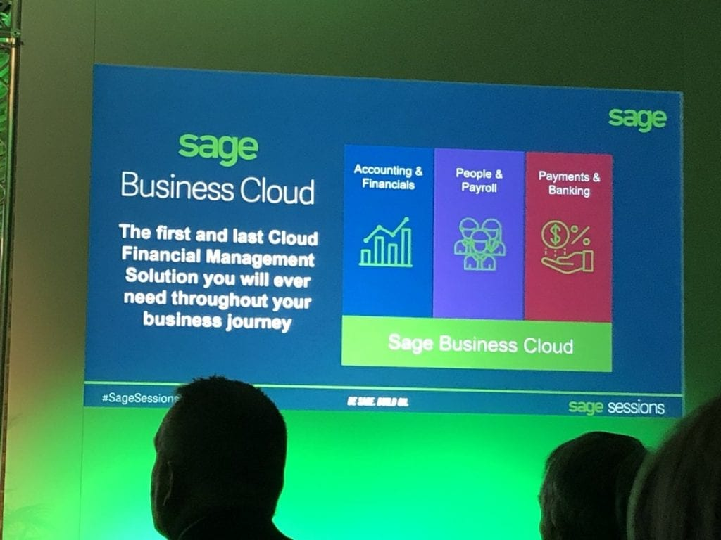 What is Sage Business Cloud Financials?