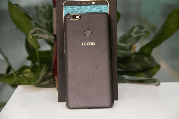 Tecno Camon X Rear