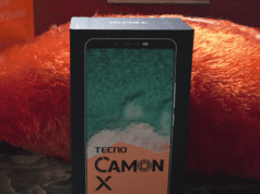 Tecno Camon X Unboxing