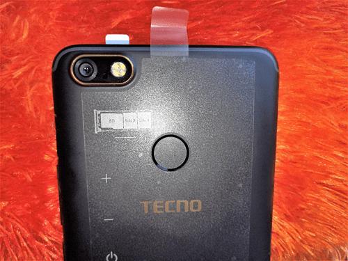 Tecno Camon X Camera