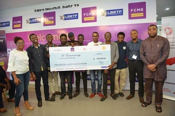 Team Abo Eko with 1 million Naira as 1st Runner up