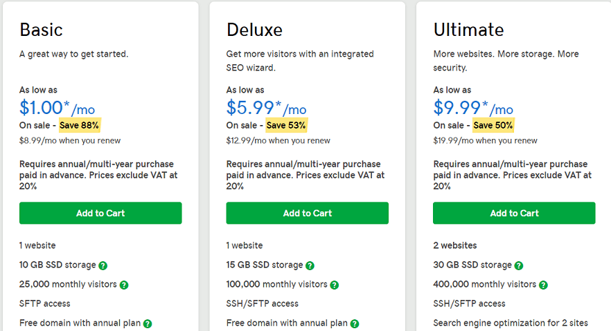 GoDaddy WordPress Hosting - GoDaddy Hosting
