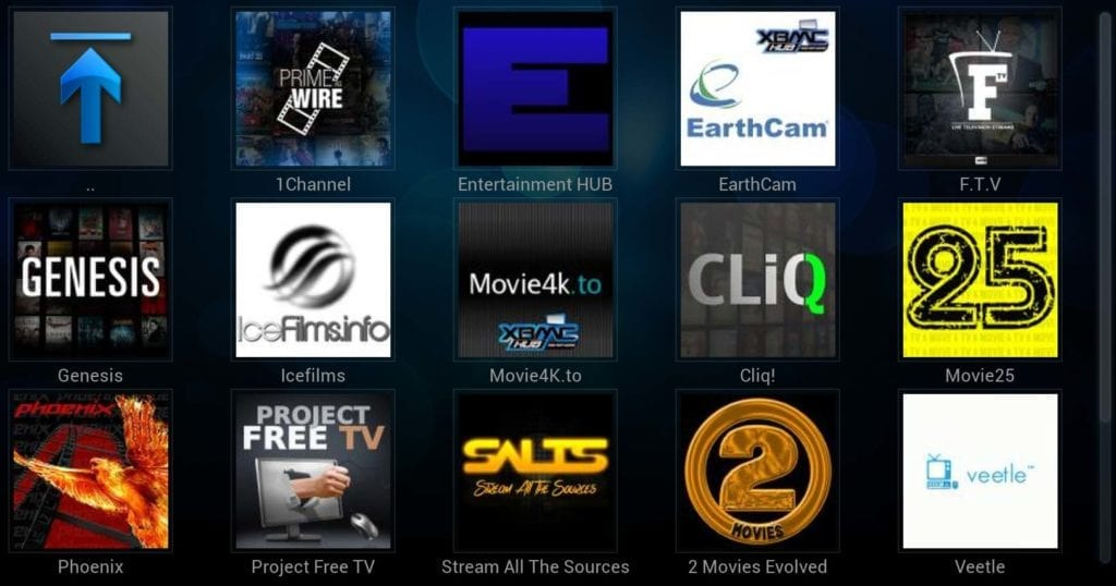 kodi app how to add sports addons