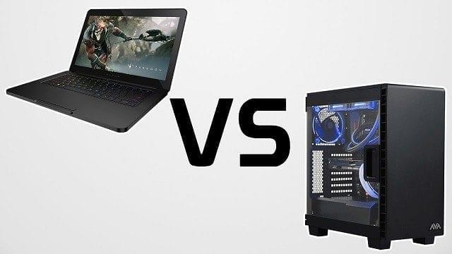 Gaming Laptop vs Gaming Desktop